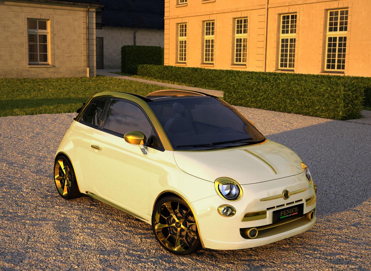 Fiat 500 за полмиллиона евро